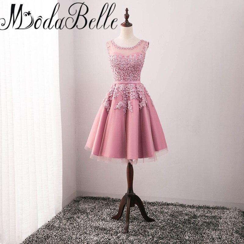 Baratos Modabelle Robe De Soirée Courte 2017 Rojo Vestido de Fiesta ...