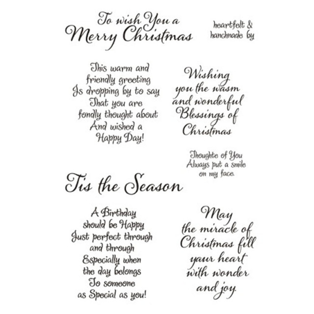 Aliexpress buy tis the season christmas sayings sentiments tis the season christmas sayings sentiments greetings rubber clear stampseal scrapbookphoto decorative m4hsunfo