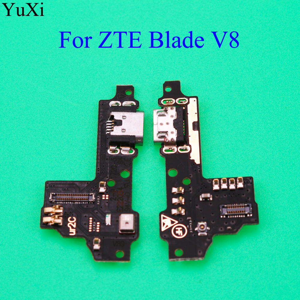 YuXi New USB Charging Port Dock Connector Flex Cable For ZTE Blade V8 USB Jack Charging Dock Connector Parts
