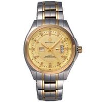 Luxury Mens Reginald Watch Gilded Stainless Steel Sapphire Glass Automatic Date Women Mens Sport Quartz Waterproof Watches 44MM