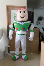 Buzz Lightyear Mascot Costume Cartoon Fancy Dress Mascot CostumeCosplay Mascot Costume  Adult Size Fancy Dress Free Shipping zootopia fox nick fancy dress adult mascot costume
