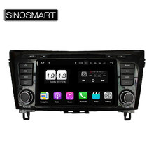 Sinosmart Android 9.0 4G Ram 8 Core CPU Mobil Dvd GPS Player untuk Nissan Qashqai/X-Trail 2013 2014 2015 2016 2017 2018(China)
