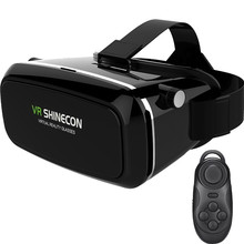Shinecon VR Virtual Reality 3D Glasses Google Cardboard Headset Oculus Rift Head Mount VR BOX 2.0 Movie For 3.5-6.0′ Smartphone