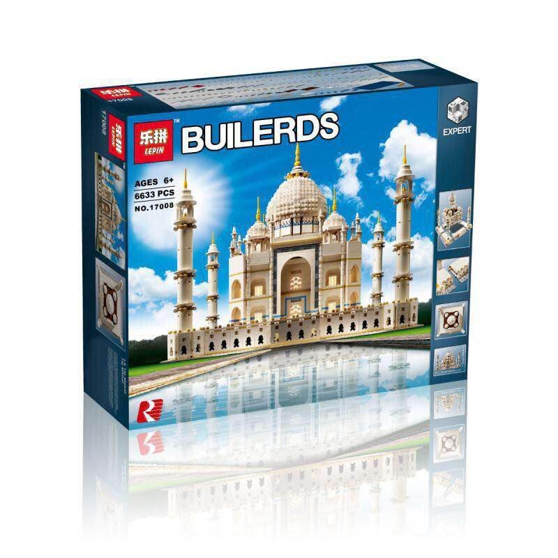 New LEPIN 17008 6634Pcs legoing The Tai Mahal Model Building Kits Brick Blocks Toys 10189 Children Educational Funny Gifts Model 850pcs 2016 lepin 06037 the lighthouse siege model building kits blocks brick toys for children best gifts