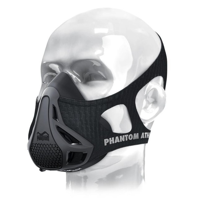 Newest Phantom Training 2.0 Mask Elevation Black Model Training 2.0 Environmental For Sport Air Body Mask