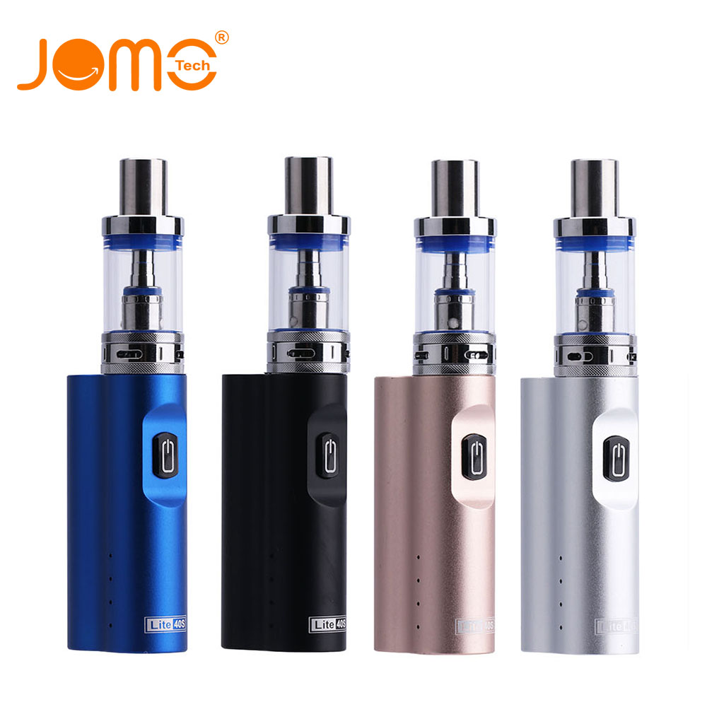JOMOTECH 2200mah Battery E-cigarette kit Box Mod 0.5 Ohm 4ml Vaporizer Lite 40S Vape Electronic Cigarette Kits Jomo-16 цена