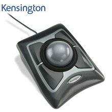 Kensington Original Expert 트랙볼 USB 마우스 스크롤 링이있는 광학 유선 AutoCAD/PS 용 대형 공 소매 포장
