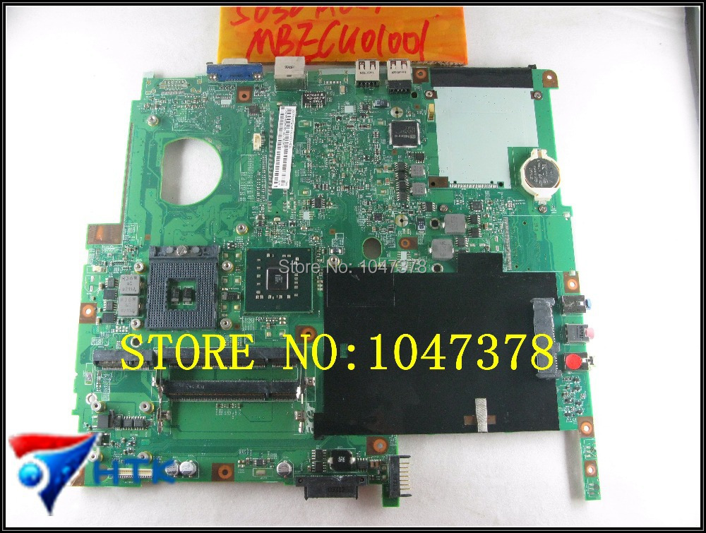 Wholesale integrated laptop motherboard for Acer Extensa 5630 5230  MBECU01001  MB.ECU01.001 48.4Z401.01M  100% Work Perfect tm8372 8372 integrated motherboard for acer laptop tm8372 8372 mbv060b001 6050a2341701