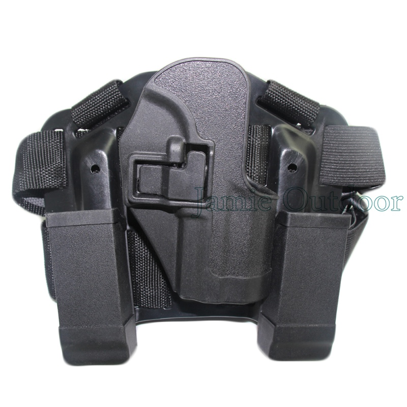 For H&K USP Tactical Leg Holster Gun Airsoft Pistol Holster with Magazine Clip Pouch Right Hand