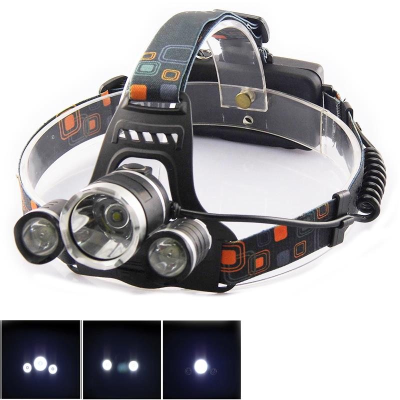 ultra bright led headlamp t6 head light torch rechargeable. Black Bedroom Furniture Sets. Home Design Ideas