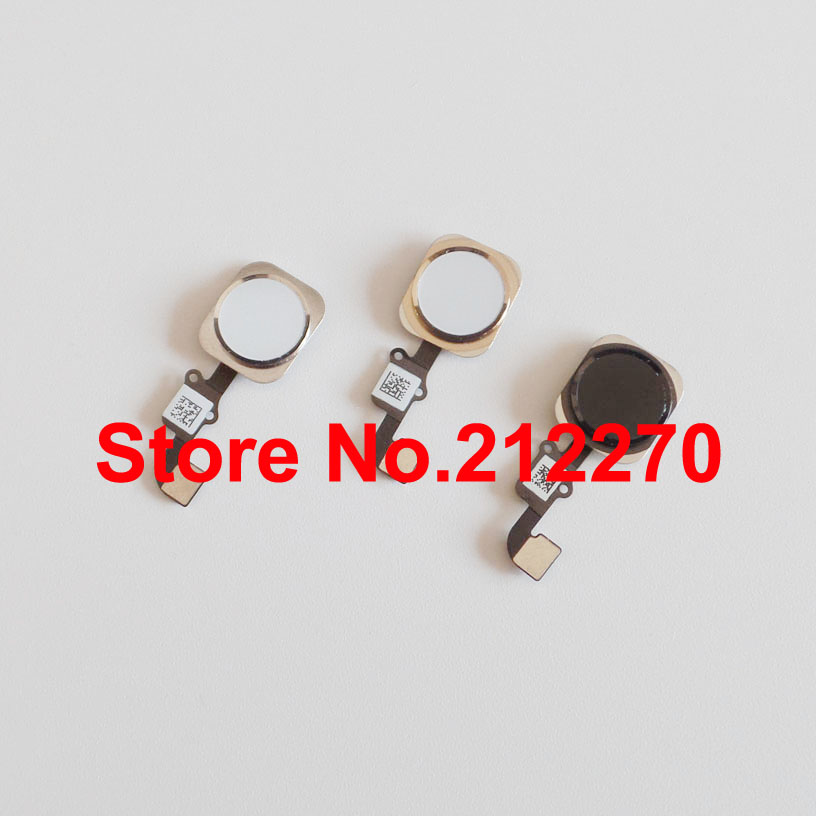 YUYOND Free DHL EMS New Home Button With Flex Cable Assembly Replacement For iPhone 6 And