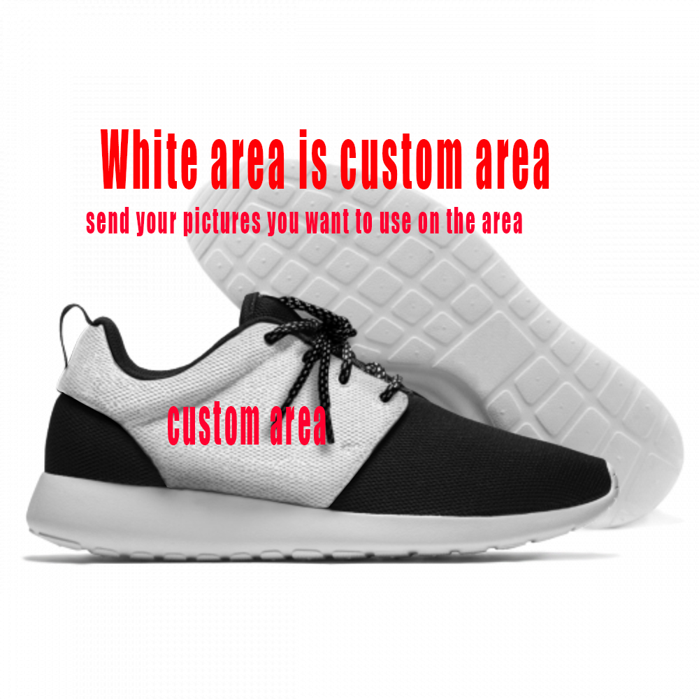 Custom shoes for sports fans Basketball Football Soccer Baseball Hockey movie you want print on the