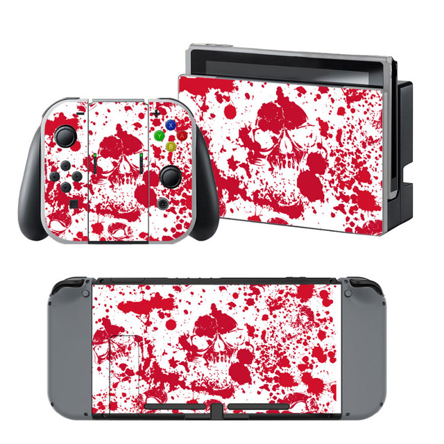 Blood Bloodstain for Nintendo Switch Console Vinyl Wrap Skin Sticker Gaming Accessories free shipping