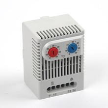 NO and NC in One Casing Double Function Temperature Controller / Dual Thermostat ZR 011 кнопка управления ekf sw2c 11 возвратная no nc