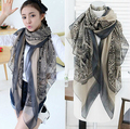 New Arrive Fashion Totem Beer Patchwork Pattern Chic Women Scarves winter scarf  Pashmina Scrawl Infinity Scarf Shawls Wrap