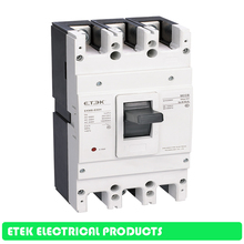 MCCB Moulded Case Circuit Breaker EKM8-630H 400A 500A 630A rs34 630 with 500a 630a 400a high capacity fuse