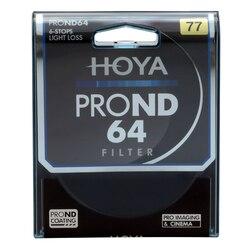 Оригинальный фильтр HOYA 77 мм PRO ND 64, ультратонкий, нейтральная плотность, 6 стоп-сигналов для камеры ND 64 67 72 77 82 мм, фильтр hoya nd