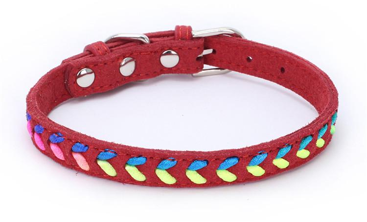 Collier tendance Coloré Chat, chaton et chien rouge