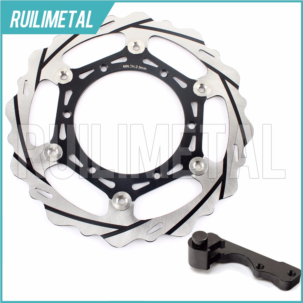 270mm oversize Front Brake Disc Rotor Bracket Adaptor for YAMAHA WR YZ 125 98 99 00 01 02 03 04 05 06 07 250 F 400 426 450 fit for rm 125 00 09 rm250 00 01 02 03 04 05 06 07 08 09 10 11 12 front rear brake disc rotor bracket bracket oversize 320mm