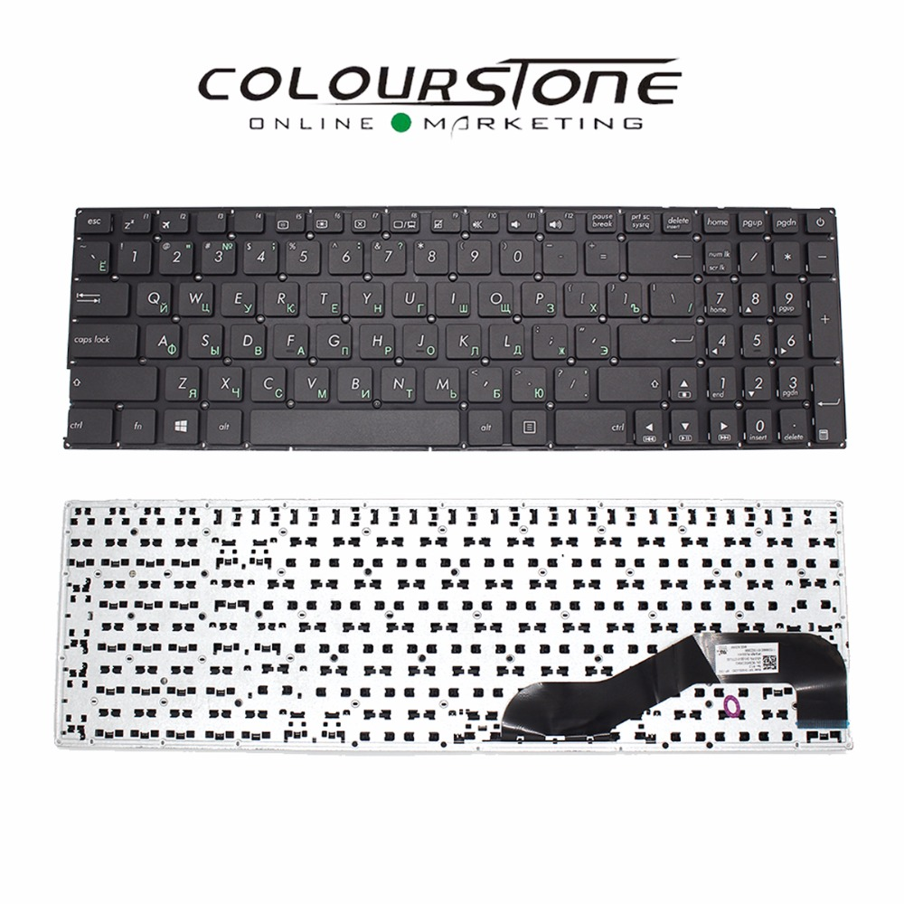 US $18 33 22% OFF|X540 RU Laptop keyboard for ASUS X540 X540L X540LA X544  X540LJ X540S X540SA X540SC R540 R540L RUSSIA Black Notebook Keyboard-in