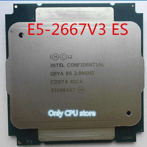 Процессор Intel Xeon ES Version E5 V3, высокочастотный процессор QEYA, 2,90 ГГц, 8 ядер, 35 м, E5 2667V3, процессор для E5-2667V3 V3