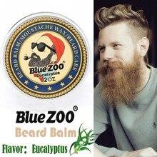 BlueZoo Natural Organic Beard Balm Moustache Hair Growth Beard Care Cream