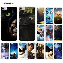 How To Train Your Dragon desdentado Babaite Coque Shell Caso de Telefone para o iPhone Da Apple 7 8 6 6 S Plus X XS MAX 5 5S SE XR Tampa(China)