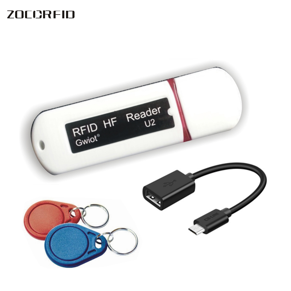 Newest Mini USB 13.56MHZ RFID Reader for iPad Android Mac Windows +10pcs cards цены онлайн