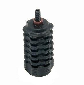 Image 4 - Accessoires de tir à larc stabilisateur arc composé noir/Camouflage 3.5 pouces stabilisateur arc classique stabilisateur caoutchouc arc