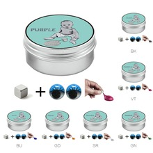 Blue Color Slime Magnetic Rubber Mud Strong Plasticine Squeeze Toy Putty Magnetic Clay Education Novelty Toys Gift for Kids