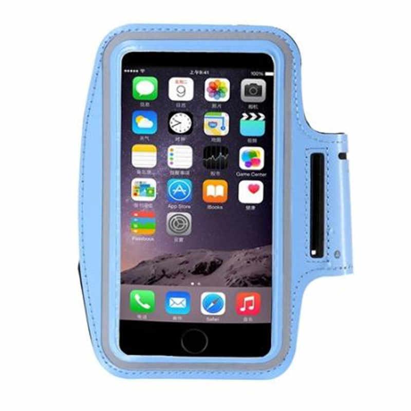 للماء الرياضة الذراع الفرقة ل فون 6 ثانية 7 القضية لسامسونج غالاكسي s5 حقيبة الهاتف المحمول تشغيل الفرقة رياضة غطاء لهواوي p8 لايت