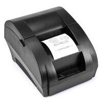 Mini 58mm Thermal Receipt Printer Ticket POS 90K Thermal Printer USB Interface Restaurant Bill Printer