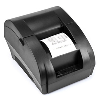 Mini 58mm Thermal Receipt Printer Ticket POS 90K Thermal Printer USB Interface Restaurant Bill Printer