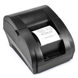 Mini 58mm 5890 k drukarka termiczna biletów POS drukarka termiczna drukarka pokwitowań interfejs USB restauracja Bill PrinterZJ5890K