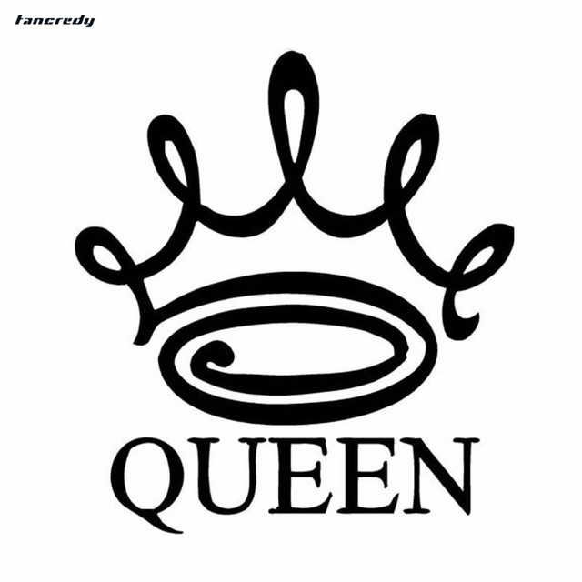 3d stickers queen crown funny car stickers 13 515cm car decals car body home wall