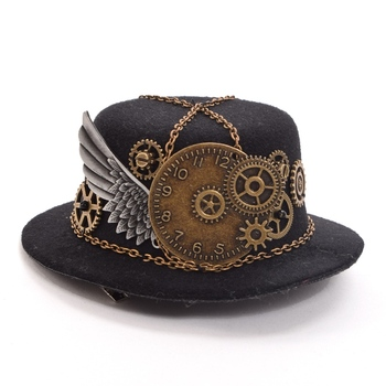 Шляпка в стиле стимпанк вариант 2 1