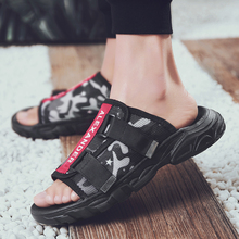 One-slip slippers Vietnamese retro casual trend summer