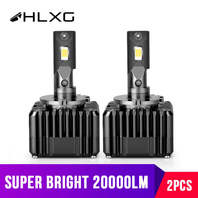 D1S D3S turbo Led Headlight Kits Fog Lamps Universal Auto Lights CSP 50W 20000LM 6000K Cold White 12V Vehicle car acessories