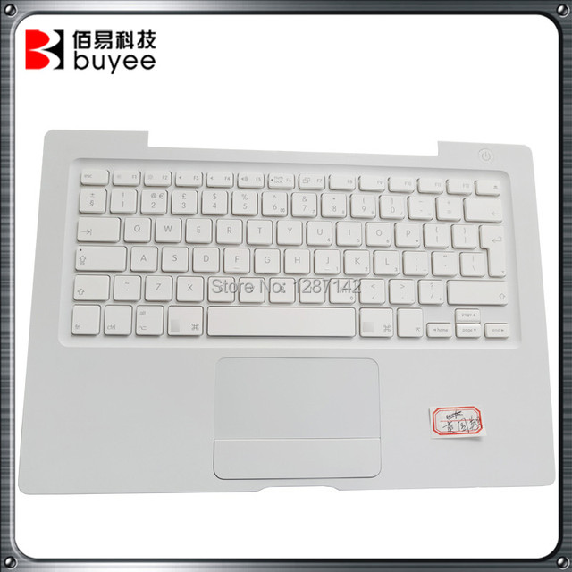UK Layout Palmrest White Color Topcase For A1181 Keyboard Topcase With UK Keyboard For Apple Macbook 13 Inch