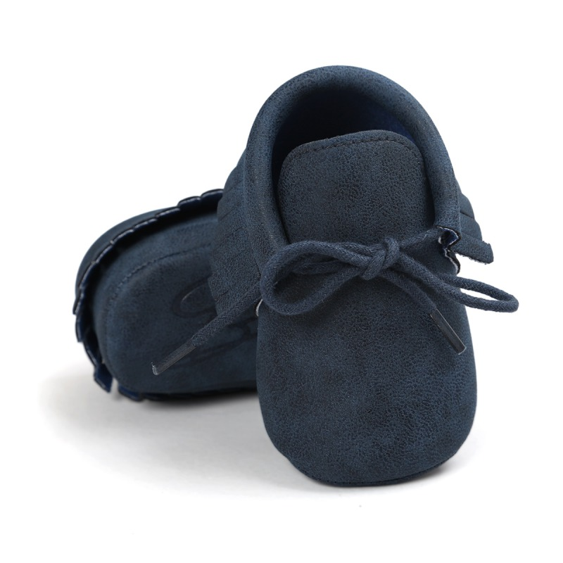 Chaussures de bébé chaud nouveau automne/printemps nouveau-né garçons filles enfant en bas âge chaussures en cuir PU bébé mocassins Sequin espadrilles décontractées 0-18M 2