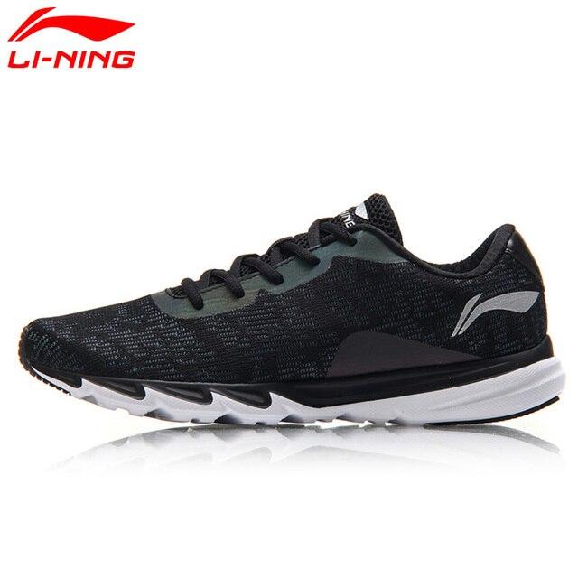 Li-Ning/Мужская обувь для бега с подкладкой, легкие кроссовки для бега, дышащая Спортивная обувь со светоотражающими элементами, ARBM117 XYP549