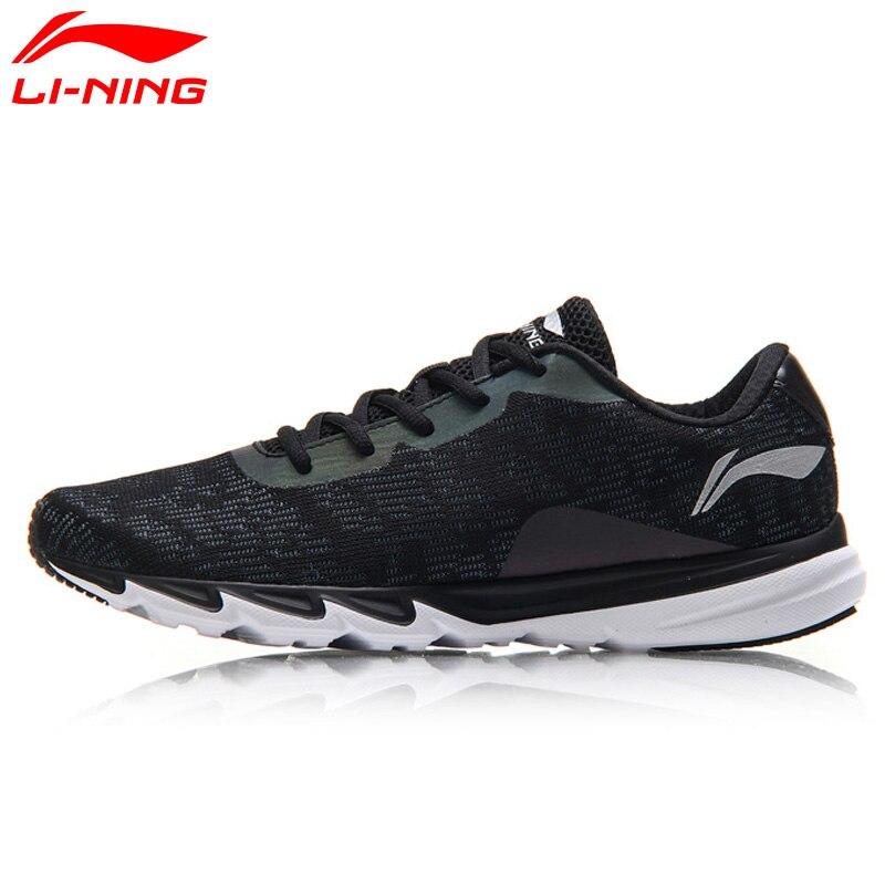 Li-Super Course Chaussures Doublure Lumière-Poids de Ning Hommes Courant des Espadrilles Respirant Réfléchissant Sport Chaussures ARBM117 XYP549