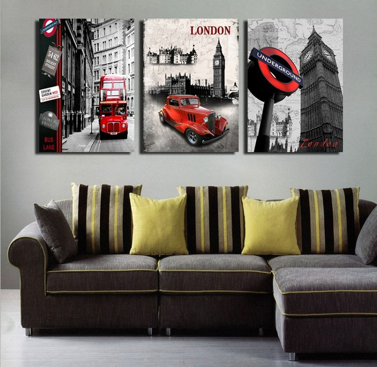 London Wall Art compare prices on london canvas art- online shopping/buy low price