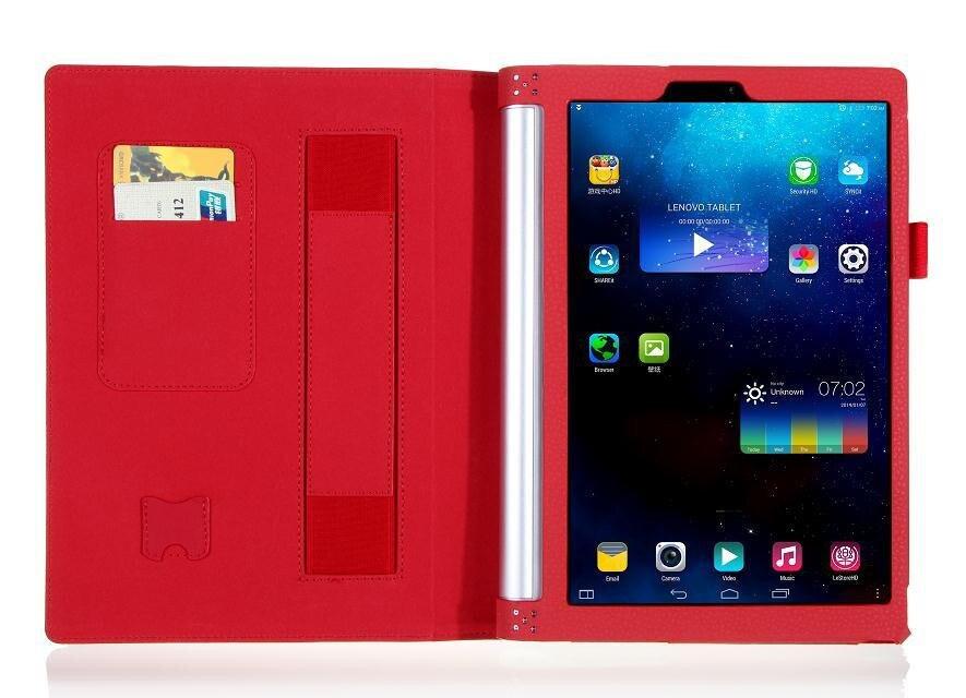 Funda de cuero de lujo de la PU para lenovo yoga tablet 2 10 1050 - Accesorios para tablets - foto 2