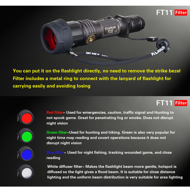 Something Waterproof flashlights that can penetrate through fog with you