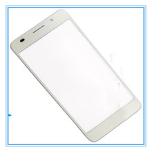 Free Shipping 10pcs/lot For Huawei Honor 6 Touch Screen digitizer Outer Glass For Huawei Honor 6 Front glass White Black Color
