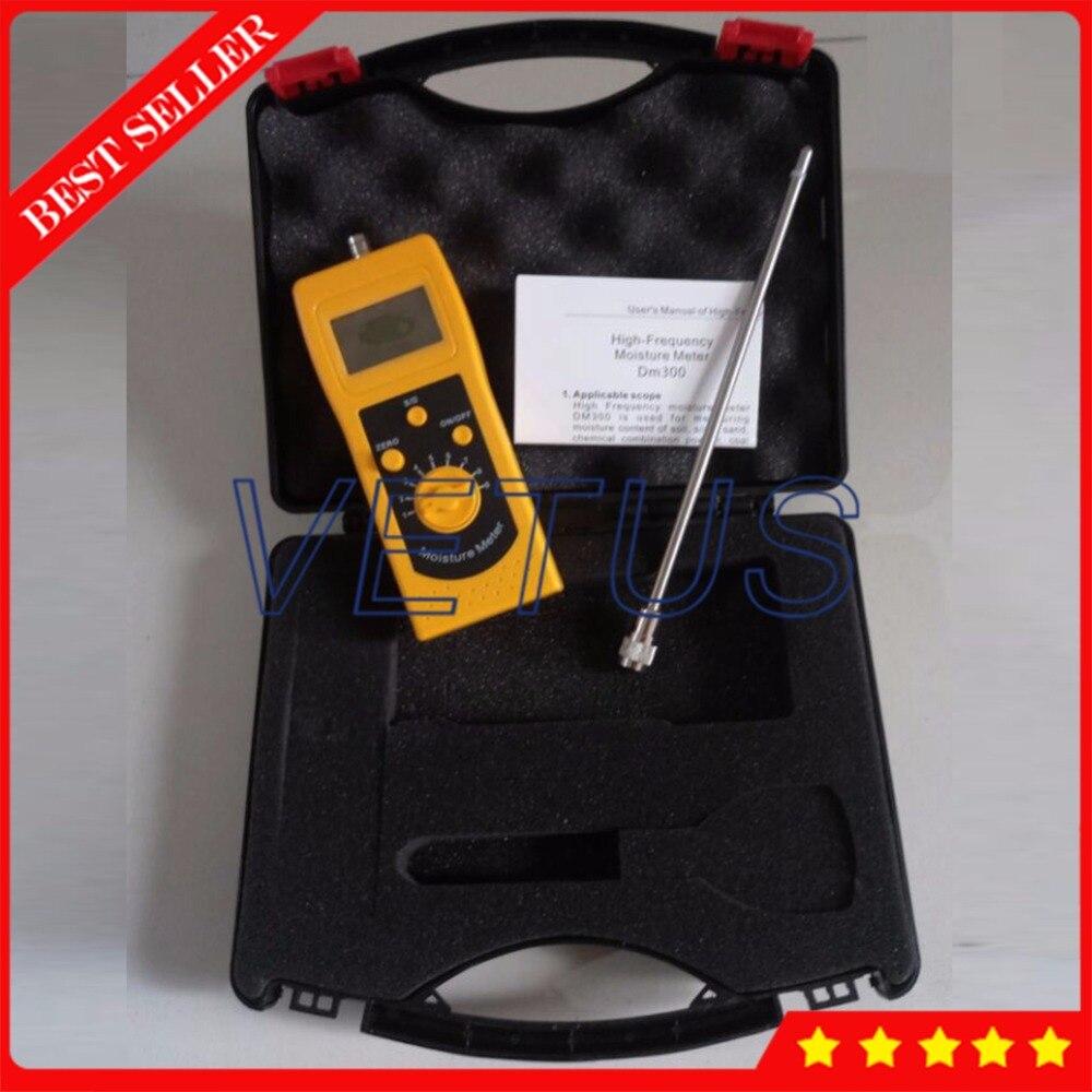 Analyseur portatif d'appareil de contrôle d'humidité de matière première chimique de DM300C