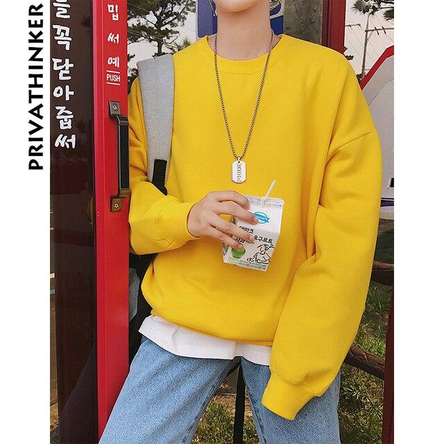 Privathinker Men Harajuku Hoodies Sweatshirts Oversized 2018 Mens Japanese Streetwear Black Hoodie Male Hiphop Winter Hoodies 3