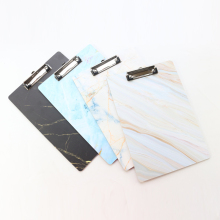 Domikee A4 креативный мраморный узор Деревянный планшет, офисный школьный блокнот для рисования папка для документов органайзер канцелярские принадлежности