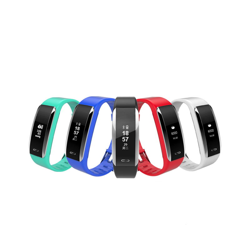 MeiBoAll V07 Men Women Sports Smart Bracelet IP67 Waterproof Heart Rate Monitor Fitness Tracker For IOS Android